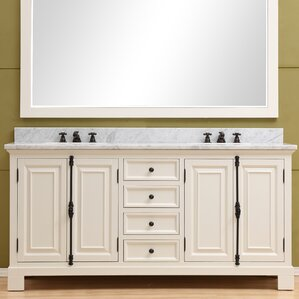 double bathroom sink vanity.  Double Vanities You ll Love Wayfair