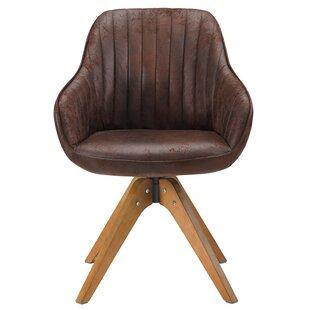 Hayek Fabric Swivel Armchair