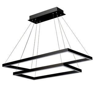 Modern contemporary modern black chandelier allmodern donovan led chandelier aloadofball Gallery