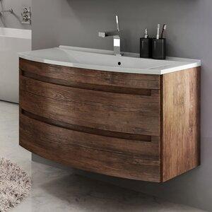 90 cm Wandmontierter Waschbeckenunterschrank Dynamic von Devo