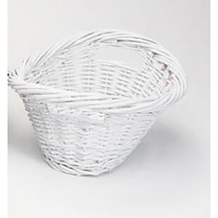 Affordable Willow Wicker Laundry Basket By Rebrilliant