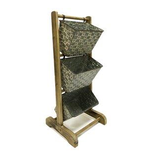 Price comparison Free-Standing Floor Display Metal Bin ByRosalind Wheeler