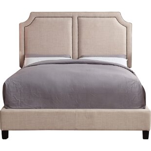 Charlton Home Rauscher Queen Upholstered Panel Bed