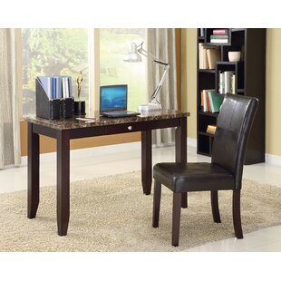 Tyringham Rectangular Desk And Chair Set by Fleur De Lis Living