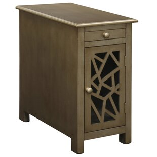 Fagaras End Table with Storage by Gracie Oaks