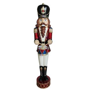 jewelled animated nutcracker christmas decoration
