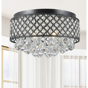 Mckelvy 4-Light Flush Mount by House of Hampton