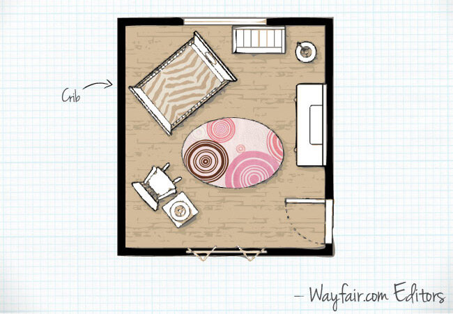 Baby Nursery Room Layouts Wayfair Co Uk
