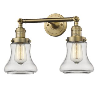 Beachcrest Home Nardone 2-Light Vanity Light