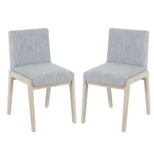 Isherwood Slipper Chair (Set of 2) by Rosecliff Heights