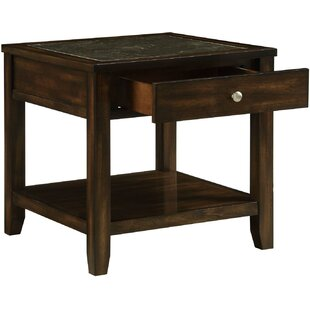 Arnoldo End Table by Canora Grey Fresh