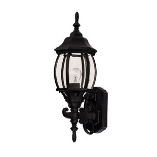 Price Check Bettincourt 1-Light Outdoor Sconce By Fleur De Lis Living