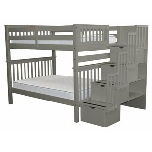 Tena Full over Full Bunk Bed with Storage