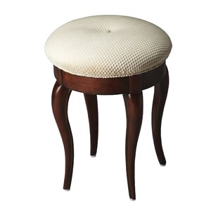 Compare prices Fairmont Vanity Stool By Alcott Hill