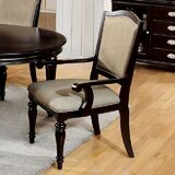 Portola Upholstered Arm Chair in Tan (Set of 2) by Darby Home Co