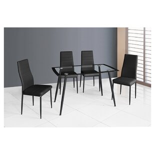 Goldsberry 5 Piece Dining Table Set Orren Ellis
