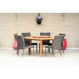 Dimitri 7 Piece Teak Dining Set