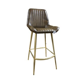 Langport Leather Barstool By Williston Forge