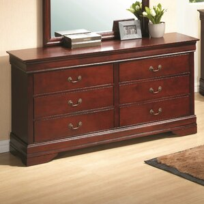 Corbeil 6 Drawer Double Dresser