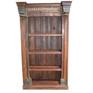 Stephanie Carved Standard Bookcase by World Menagerie Fresh