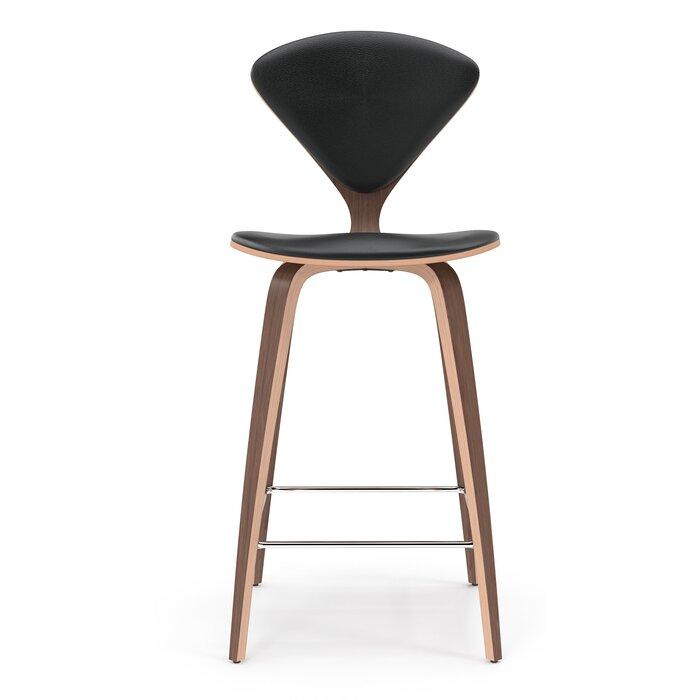 Terrific Olivia Genuine Leather Bar Counter Stool Bralicious Painted Fabric Chair Ideas Braliciousco