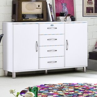 Malibu 2 Door 4 Drawer Sideboard Tenzo