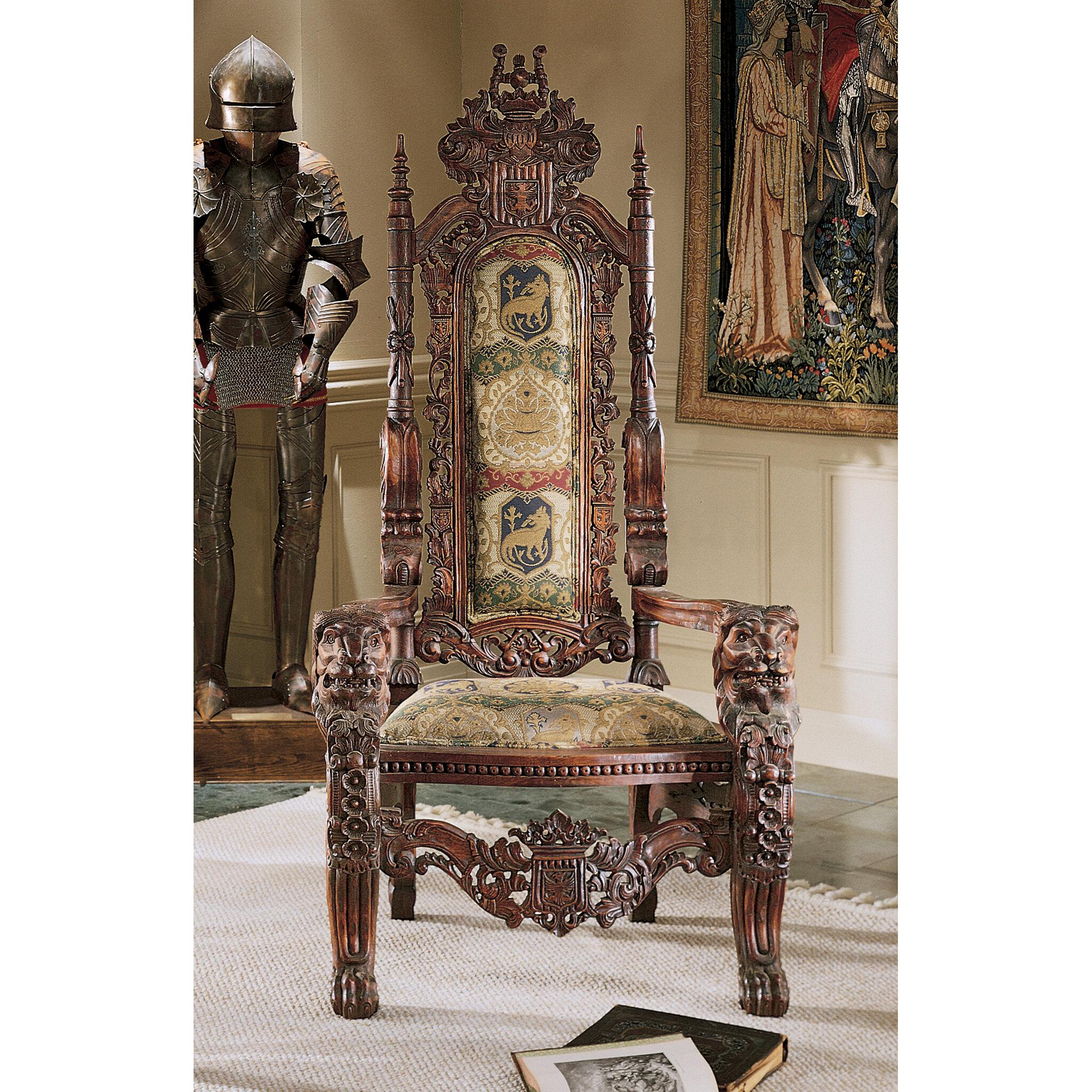Design Toscano The Lord Raffles 68 Wide Armchair Reviews Wayfair