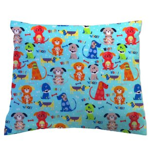Doggies Crib Pillow Case By Sheetworld