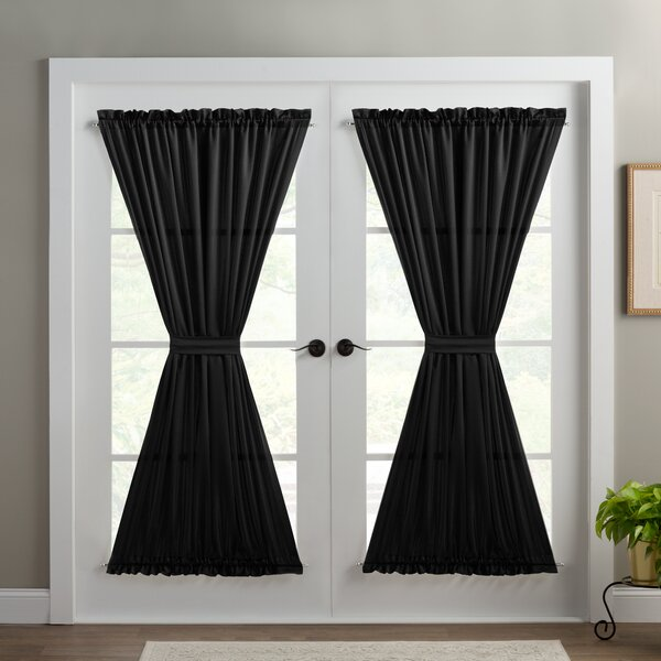 Lucky star Window Curtains//Drape//Panel//Scarf Assorted Solid Color Curtain Panel