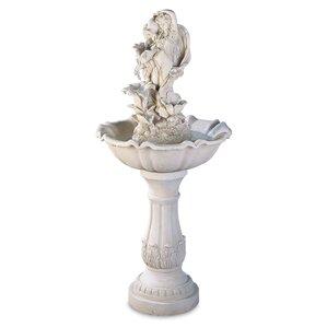 Fiberglass Garden Goddess Fiberglass Fountain