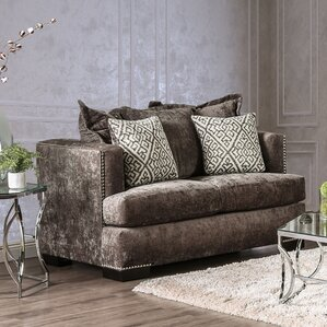 Georgia Transitional Loveseat by House of Ha..