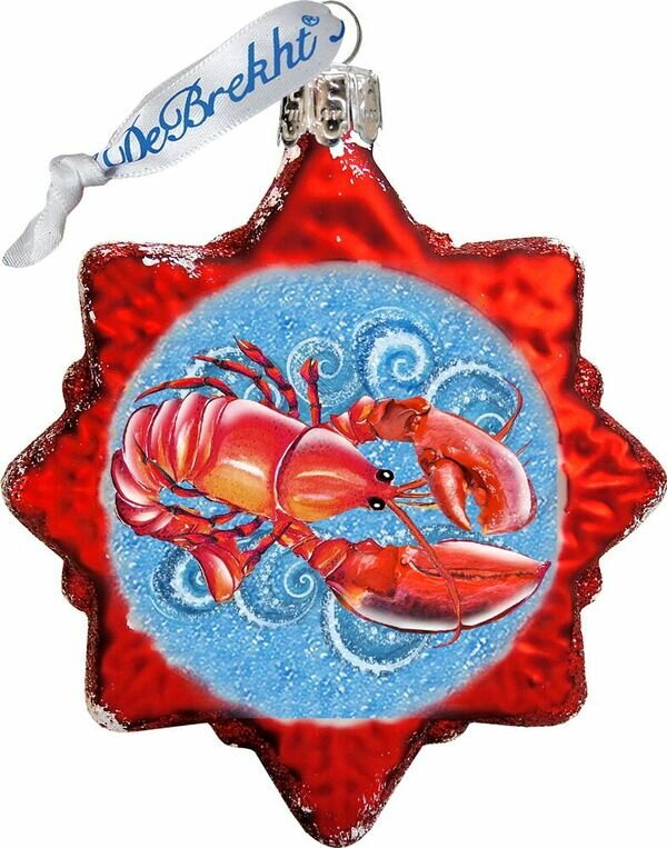The Holiday Aisle Lobster Shaped Ornament Wayfair