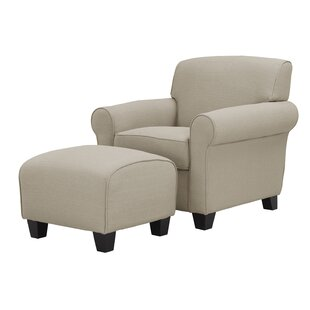 Shop for Oldbury Armchair and Ottoman By Alcott Hill