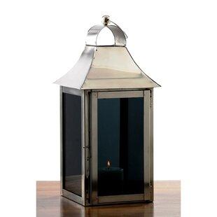 Smoky Glass Lantern by Fashion N You by Horizon Interseas