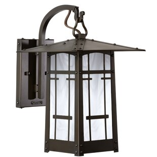 Affordable Dever 1-Light Outdoor Wall Lantern By World Menagerie