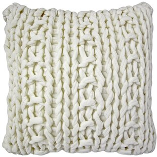 Agatha Chunky Knit Throw Pillow