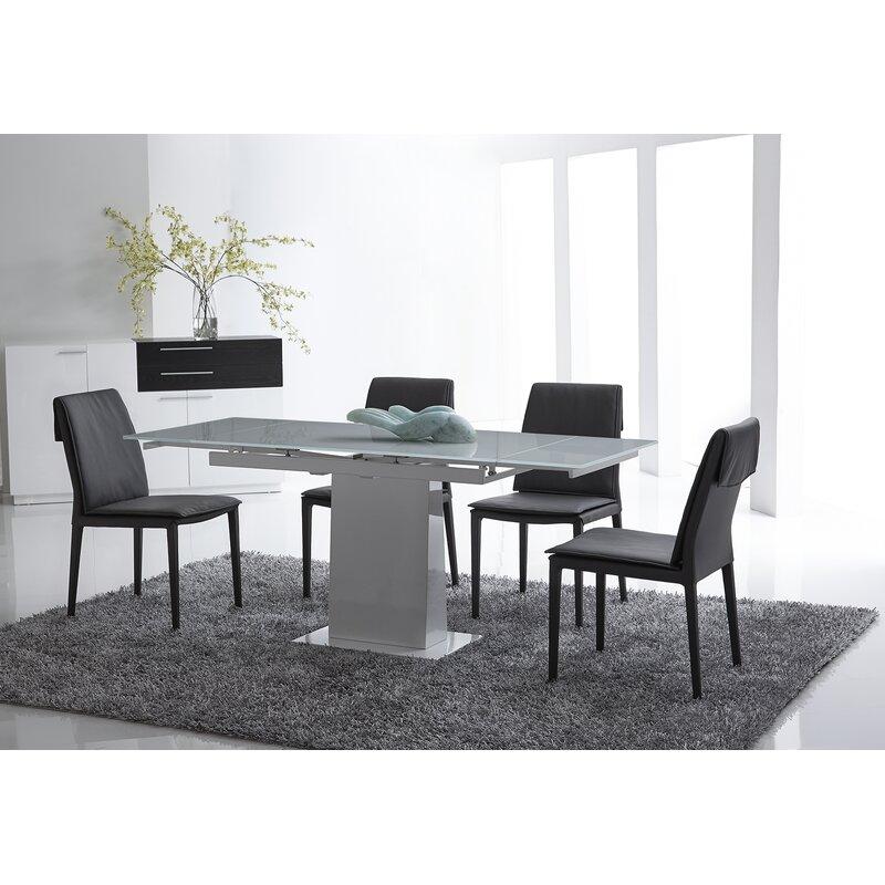 Bellini Modern Living Bonn Extendable Dining Table Wayfair