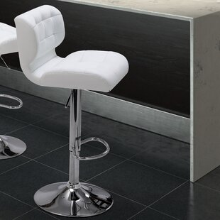 Fabrizio Adjustable Height Swivel Bar Stool Zipcode Design