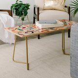 Ninola Design Curly and Zigzag Coffee Table by East Urban Home