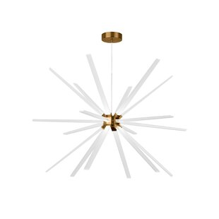 Bargain Maderia 18-Light  LED  Chandelier By Ivy Bronx