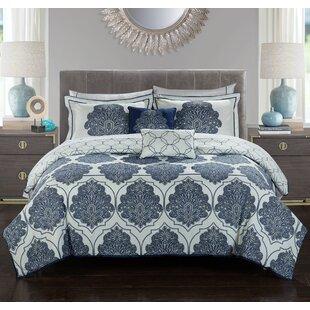 Stylehouse Kaitlyn 8 Piece Reversible Comforter Set