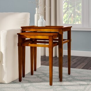 Darby Home Co Kelsey 2 Piece Nesting Tables