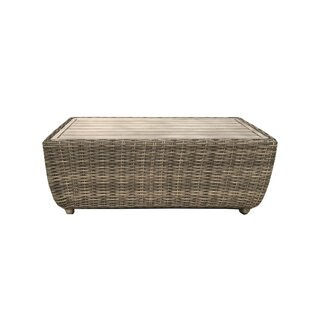Desalvo Wicker Coffee Table