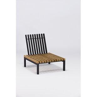 Elian Teak Patio Chair with Cushion