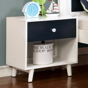 Sauve 1 Drawer Nightstand by Harriet Bee