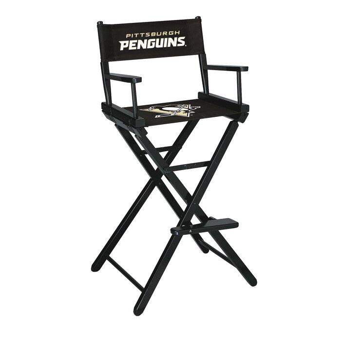 Pleasant Nhl Bar Folding Directors Chair Alphanode Cool Chair Designs And Ideas Alphanodeonline