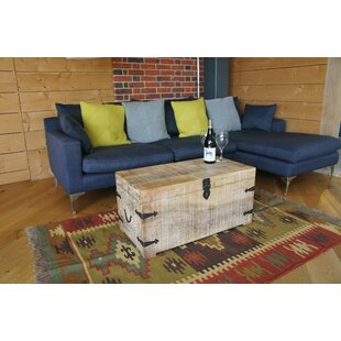 Biswas Coffee Table With Storage By World Menagerie