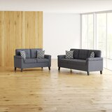 Whitmore 2 Piece Living Room Set by Ebern Designs