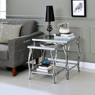 Caitlynn 2 Piece Nesting Tables by Mercer41