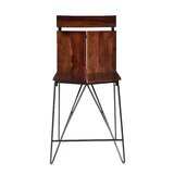 Hurdland Solid Wood 24 Counter Stool by Foundry Select